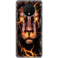 Силиконовый чехол BoxFace OnePlus 7T Fire Lion (38481-up2437)