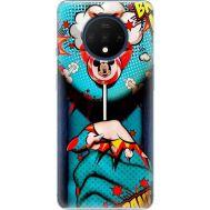 Силиконовый чехол BoxFace OnePlus 7T Girl Pop Art (38481-up2444)