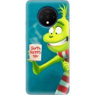 Силиконовый чехол BoxFace OnePlus 7T Santa Hates You (38481-up2449)
