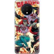Силиконовый чехол BoxFace OnePlus 7T Deadpool and Mary Jane (38481-up2454)