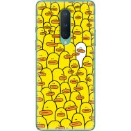 Силиконовый чехол BoxFace OnePlus 8 Yellow Ducklings (39989-up2428)