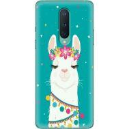 Силиконовый чехол BoxFace OnePlus 8 Cold Llama (39989-up2435)