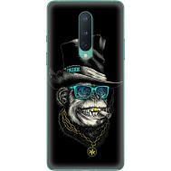 Силиконовый чехол BoxFace OnePlus 8 Rich Monkey (39989-up2438)