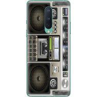 Силиконовый чехол BoxFace OnePlus 8 Old Boombox (39989-up2446)
