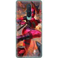 Силиконовый чехол BoxFace OnePlus 8 Woman Deadpool (39989-up2453)