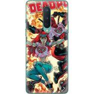 Силиконовый чехол BoxFace OnePlus 8 Deadpool and Mary Jane (39989-up2454)