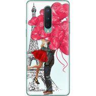 Силиконовый чехол BoxFace OnePlus 8 Love in Paris (39989-up2460)