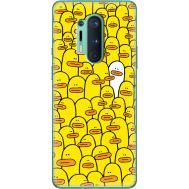 Силиконовый чехол BoxFace OnePlus 8 Pro Yellow Ducklings (39994-up2428)