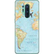 Силиконовый чехол BoxFace OnePlus 8 Pro Карта (39994-up2434)