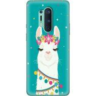 Силиконовый чехол BoxFace OnePlus 8 Pro Cold Llama (39994-up2435)