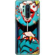 Силиконовый чехол BoxFace OnePlus 8 Pro Girl Pop Art (39994-up2444)