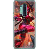 Силиконовый чехол BoxFace OnePlus 8 Pro Woman Deadpool (39994-up2453)