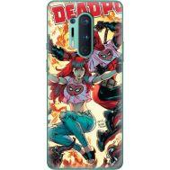 Силиконовый чехол BoxFace OnePlus 8 Pro Deadpool and Mary Jane (39994-up2454)