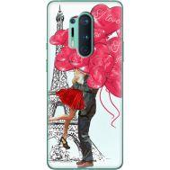 Силиконовый чехол BoxFace OnePlus 8 Pro Love in Paris (39994-up2460)