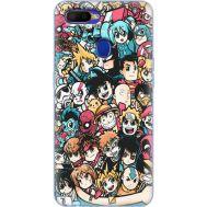 Силиконовый чехол BoxFace OPPO A5s Anime Stickers (38514-up2458)