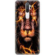 Силиконовый чехол BoxFace OPPO A5 2020 Fire Lion (38519-up2437)