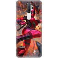 Силиконовый чехол BoxFace OPPO A5 2020 Woman Deadpool (38519-up2453)
