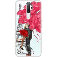 Силиконовый чехол BoxFace OPPO A5 2020 Love in Paris (38519-up2460)