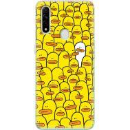 Силиконовый чехол BoxFace OPPO A31 Yellow Ducklings (39938-up2428)