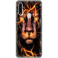 Силиконовый чехол BoxFace OPPO A31 Fire Lion (39938-up2437)