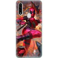 Силиконовый чехол BoxFace OPPO A31 Woman Deadpool (39938-up2453)