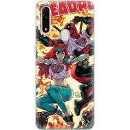 Силиконовый чехол BoxFace OPPO A31 Deadpool and Mary Jane (39938-up2454)