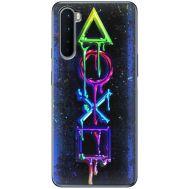 Силиконовый чехол BoxFace OnePlus Nord Graffiti symbols (40980-up2432)