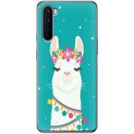 Силиконовый чехол BoxFace OnePlus Nord Cold Llama (40980-up2435)