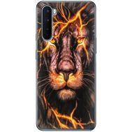 Силиконовый чехол BoxFace OnePlus Nord Fire Lion (40980-up2437)