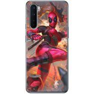 Силиконовый чехол BoxFace OnePlus Nord Woman Deadpool (40980-up2453)
