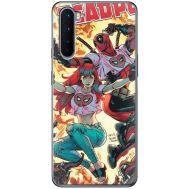 Силиконовый чехол BoxFace OnePlus Nord Deadpool and Mary Jane (40980-up2454)