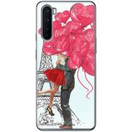 Силиконовый чехол BoxFace OnePlus Nord Love in Paris (40980-up2460)