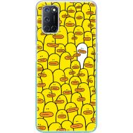Силиконовый чехол BoxFace OPPO A52 Yellow Ducklings (41581-up2428)