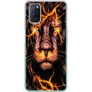 Силиконовый чехол BoxFace OPPO A52 Fire Lion (41581-up2437)