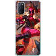 Силиконовый чехол BoxFace OPPO A52 Woman Deadpool (41581-up2453)