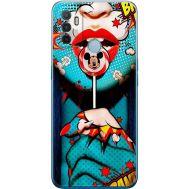 Силиконовый чехол BoxFace OPPO A53 Girl Pop Art (41736-up2444)