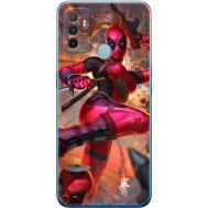 Силиконовый чехол BoxFace OPPO A53 Woman Deadpool (41736-up2453)