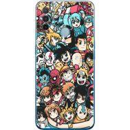 Силиконовый чехол BoxFace OPPO A53 Anime Stickers (41736-up2458)