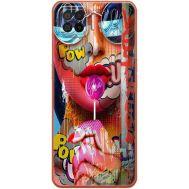 Силиконовый чехол BoxFace OPPO A73 Colorful Girl (41741-up2443)