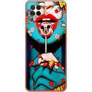 Силиконовый чехол BoxFace OPPO A73 Girl Pop Art (41741-up2444)
