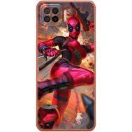 Силиконовый чехол BoxFace OPPO A73 Woman Deadpool (41741-up2453)
