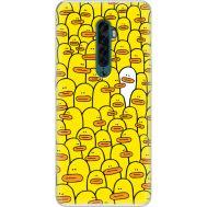 Силиконовый чехол BoxFace OPPO Reno2 Yellow Ducklings (38502-up2428)