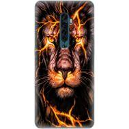 Силиконовый чехол BoxFace OPPO Reno2 Fire Lion (38502-up2437)