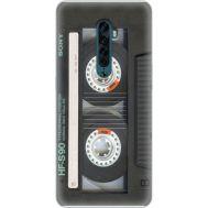 Силиконовый чехол BoxFace OPPO Reno2 Старая касета (38502-up2445)
