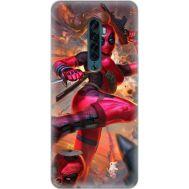 Силиконовый чехол BoxFace OPPO Reno2 Woman Deadpool (38502-up2453)