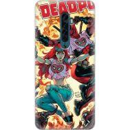 Силиконовый чехол BoxFace OPPO Reno2 Deadpool and Mary Jane (38502-up2454)