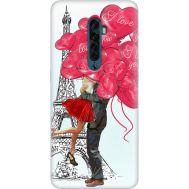 Силиконовый чехол BoxFace OPPO Reno2 Love in Paris (38502-up2460)