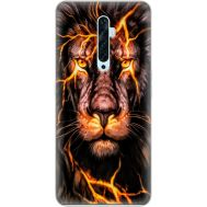 Силиконовый чехол BoxFace OPPO Reno2 Z Fire Lion (38509-up2437)