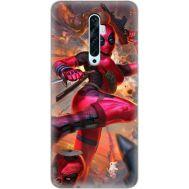 Силиконовый чехол BoxFace OPPO Reno2 Z Woman Deadpool (38509-up2453)
