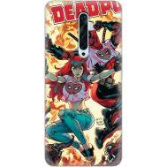 Силиконовый чехол BoxFace OPPO Reno2 Z Deadpool and Mary Jane (38509-up2454)